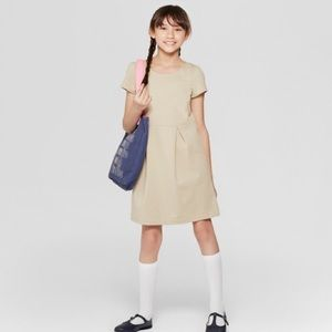 Cat & Jack uniform dress sz 7/8